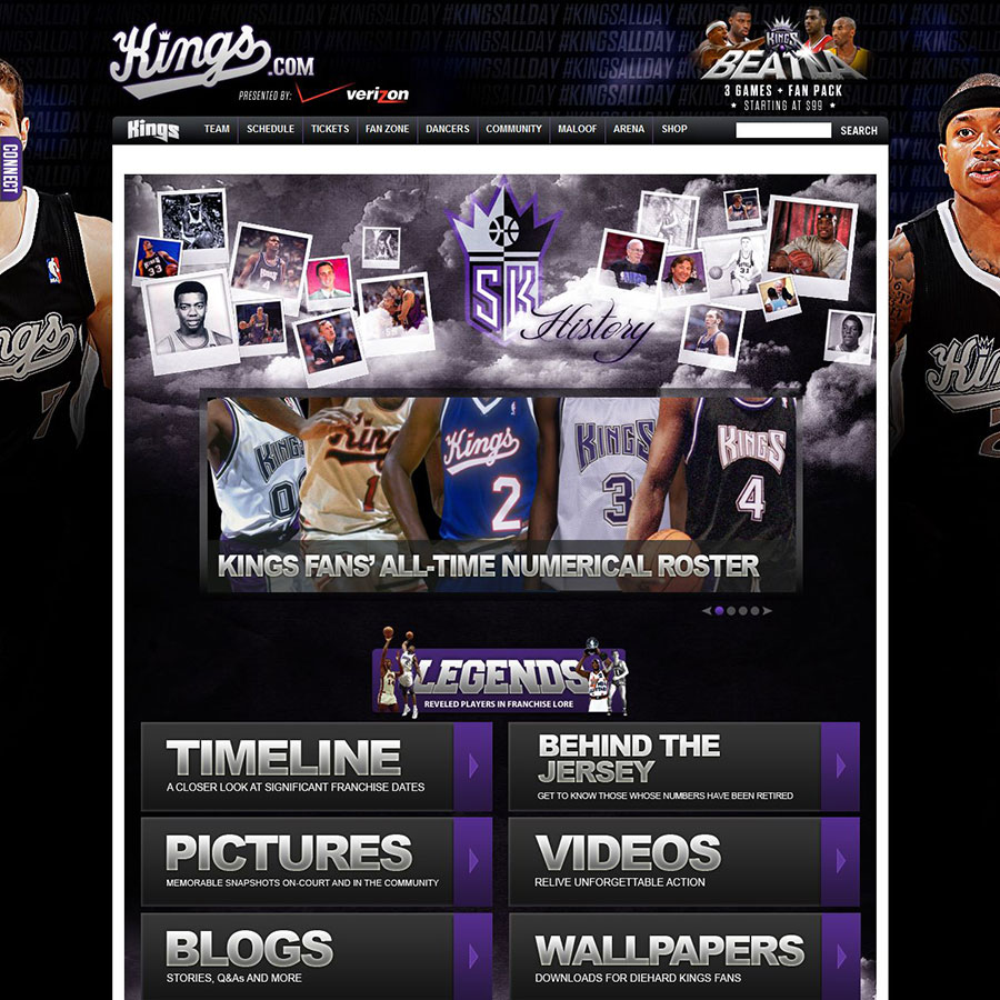 Sacramento Kings History Website
